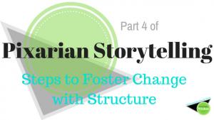 Pixarian storytelling writing plot structure ending beginning