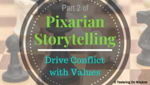 Pixarian Pixar storytelling drive conflict with values