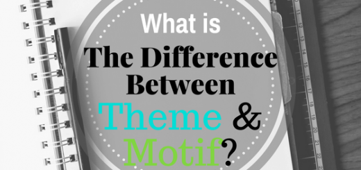 difference between theme motif literary elements devices teach learn writing reading