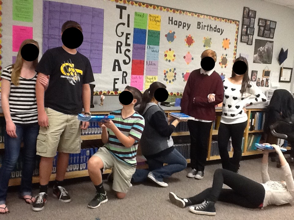 Classroom decor board dramatic tableaux for Shakespeare