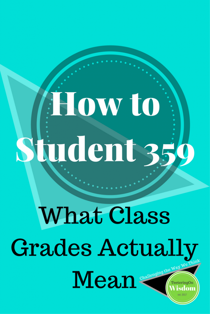 how to student what class grades actually mean teal color feature design