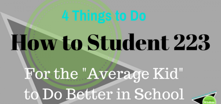 How to better student for any class and level