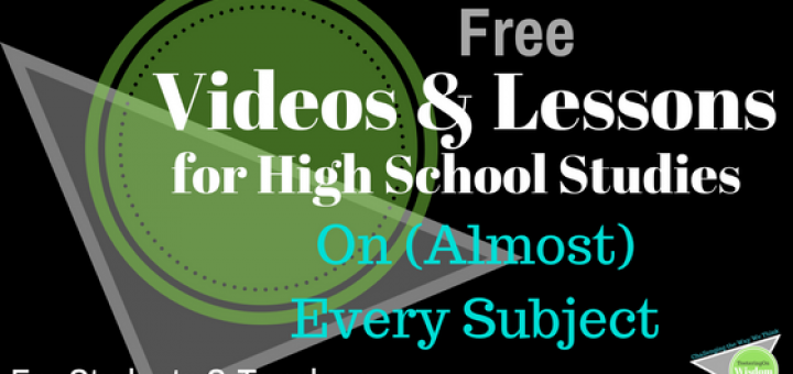 Free video and Lesson for high school studies