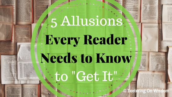 5 allusions references every reader needs to know to get it in music movies books