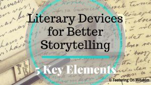 literary elements devices for better storytelling reading mood plot subplot foreshadow mood