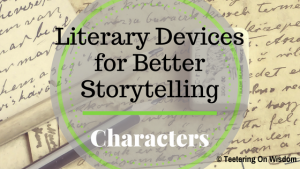 literary elements devices for better storytelling reading characters characterization