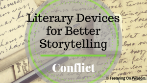literary elements devices for better storytelling reading conflict