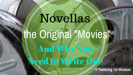 What how and why you should write novellas because they are like original movies