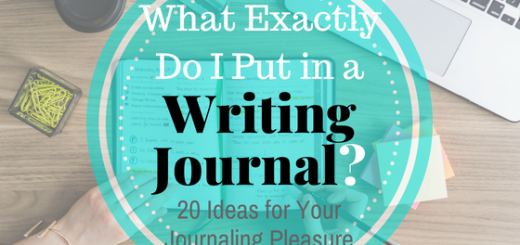 writing journal ideas