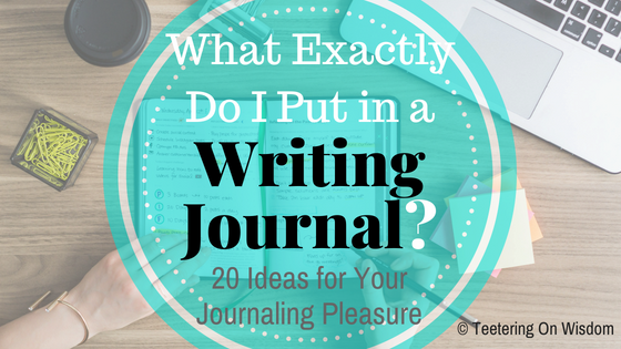 writing journal ideas