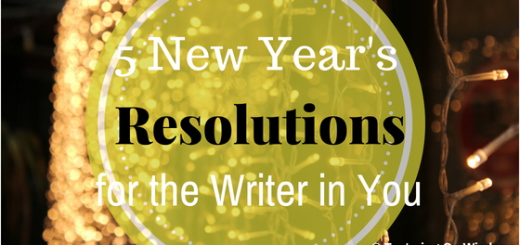 New years resolutions writer goals