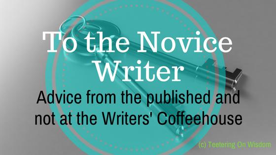 writing advice novice writer