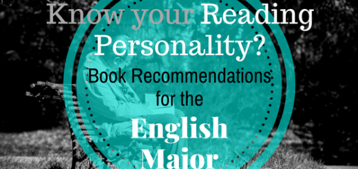 reading personality book recommendations english major