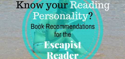 reading personality book recommendations escapist reader
