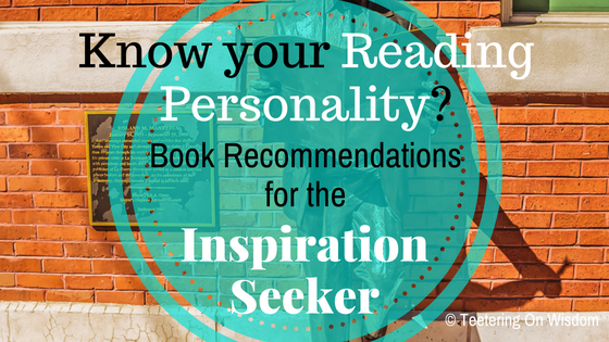 reading personality book recommendations inspiration seeker