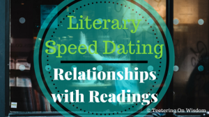 literary speed dating relationships with readings book reviews