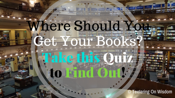 Where should you I be getting my books quizzes