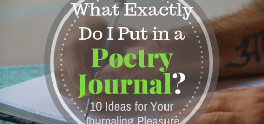 poetry journal ideas