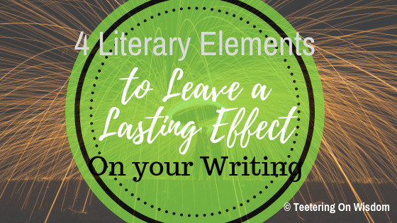 Last effect using literary elements feature design